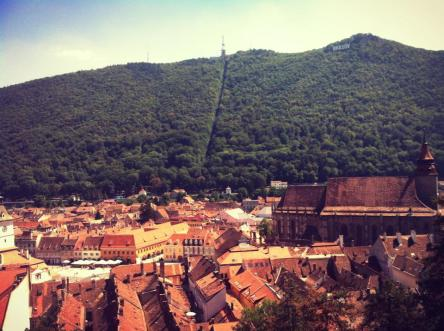 Brașov, view from the White Tower